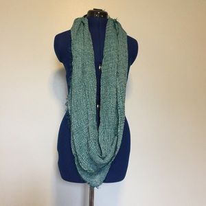 Maurices Blue/Teal Infinity Scarf